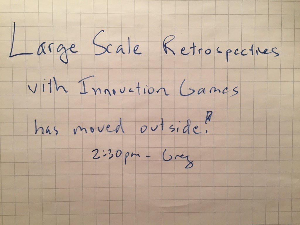 large scale retrospectives 1